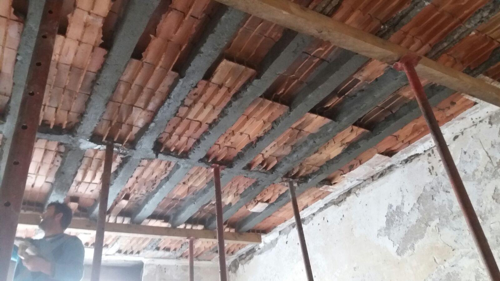 Ripristino Solaio Latero Cemento rinforzo di solaio sfondellato - seico compositi